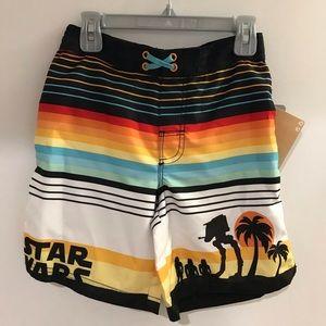 Star Wars Swim Trunks NWT